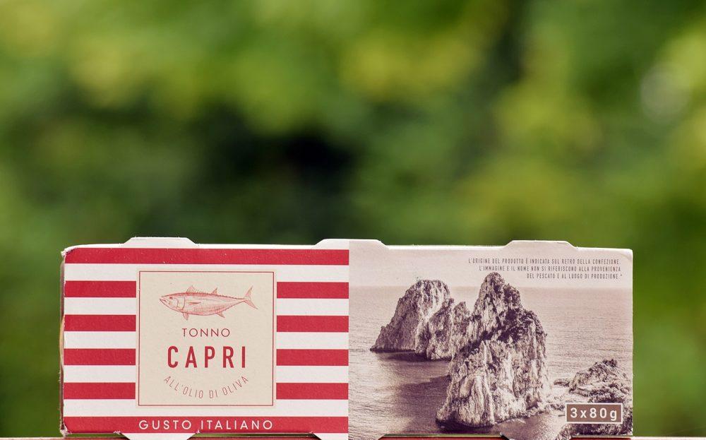 Capri tonhalkonzerv olívaolajban