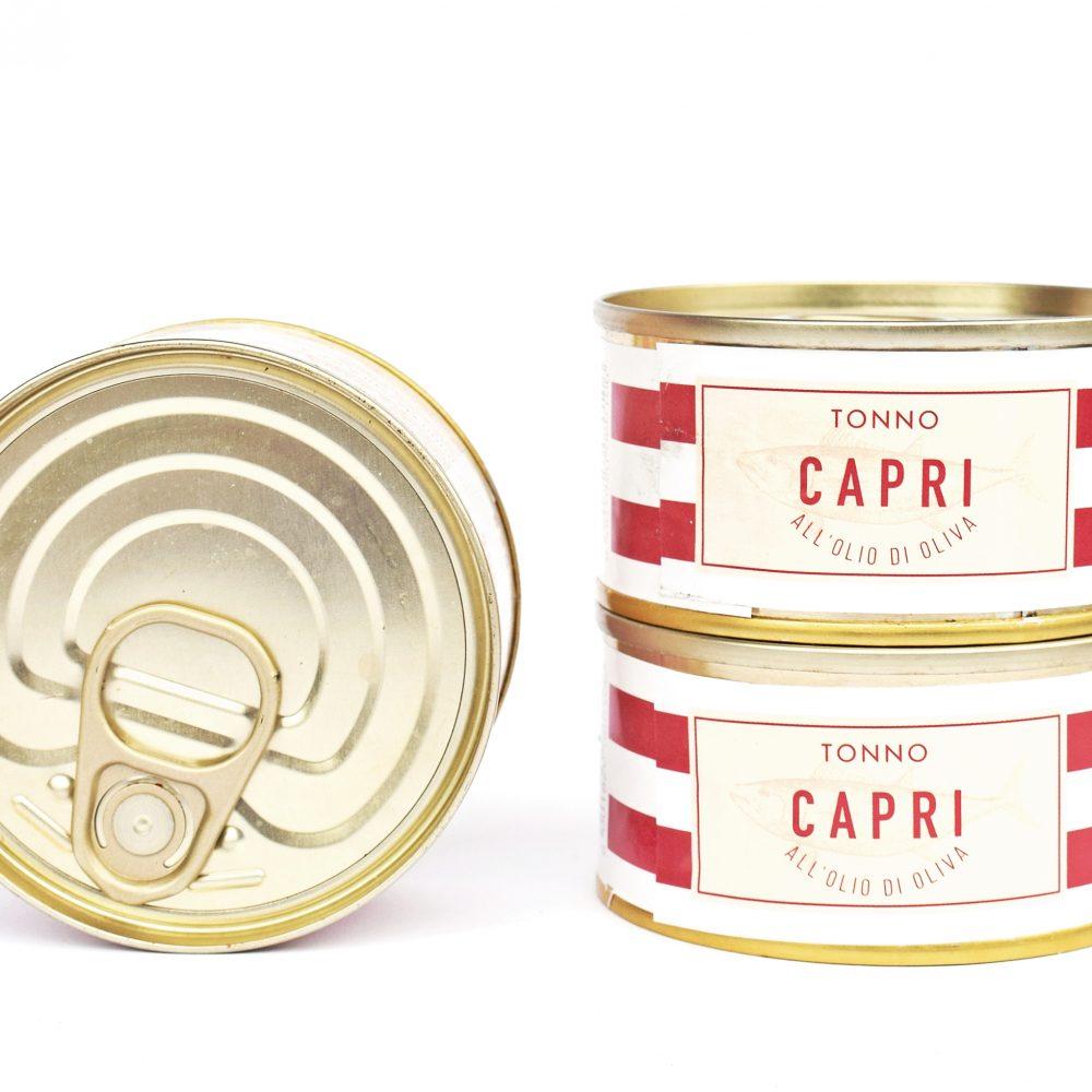 Capri tonhal olívaolajban, 3 x 80 g