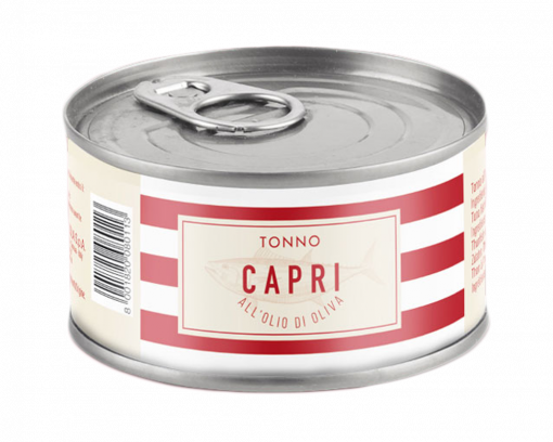 Capri olívaolajos tonhal