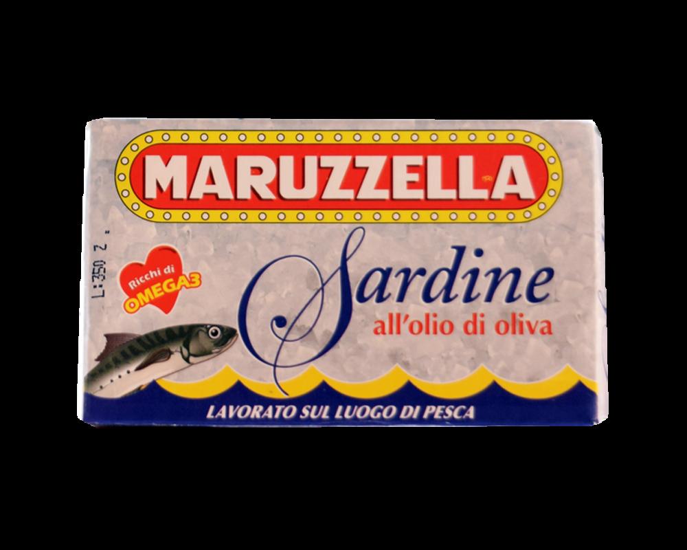 Maruzzella szardínia olívaolajban