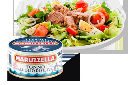 Maruzzella tonhalkonzerv olívaolajban