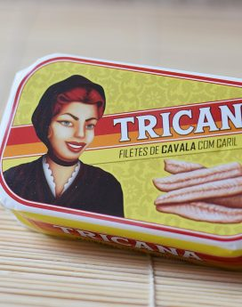 Tricana makrélafilé currys szószban