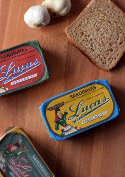Lucas portugál szardíniakonzervek