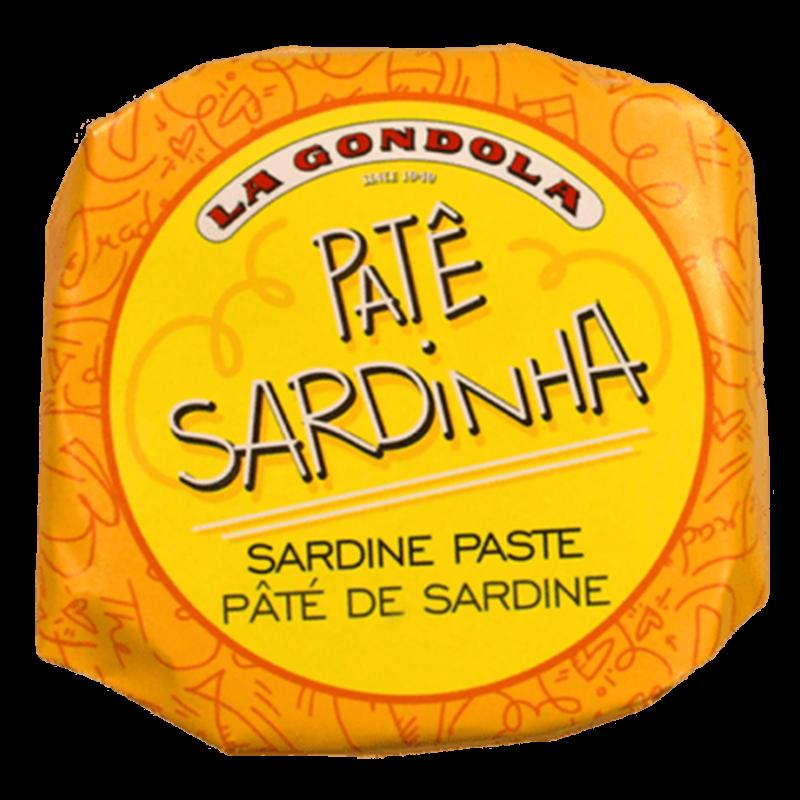 La Gondola szardínia pástétom