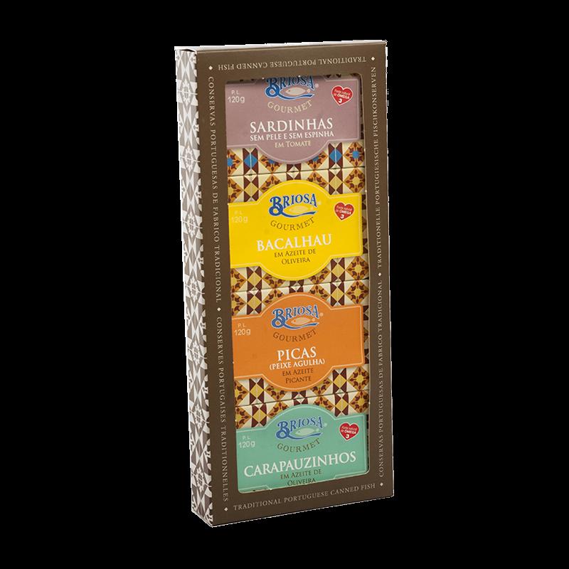 Briosa Gourmet Silver Box
