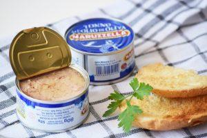 Maruzzella tonhal konzervek