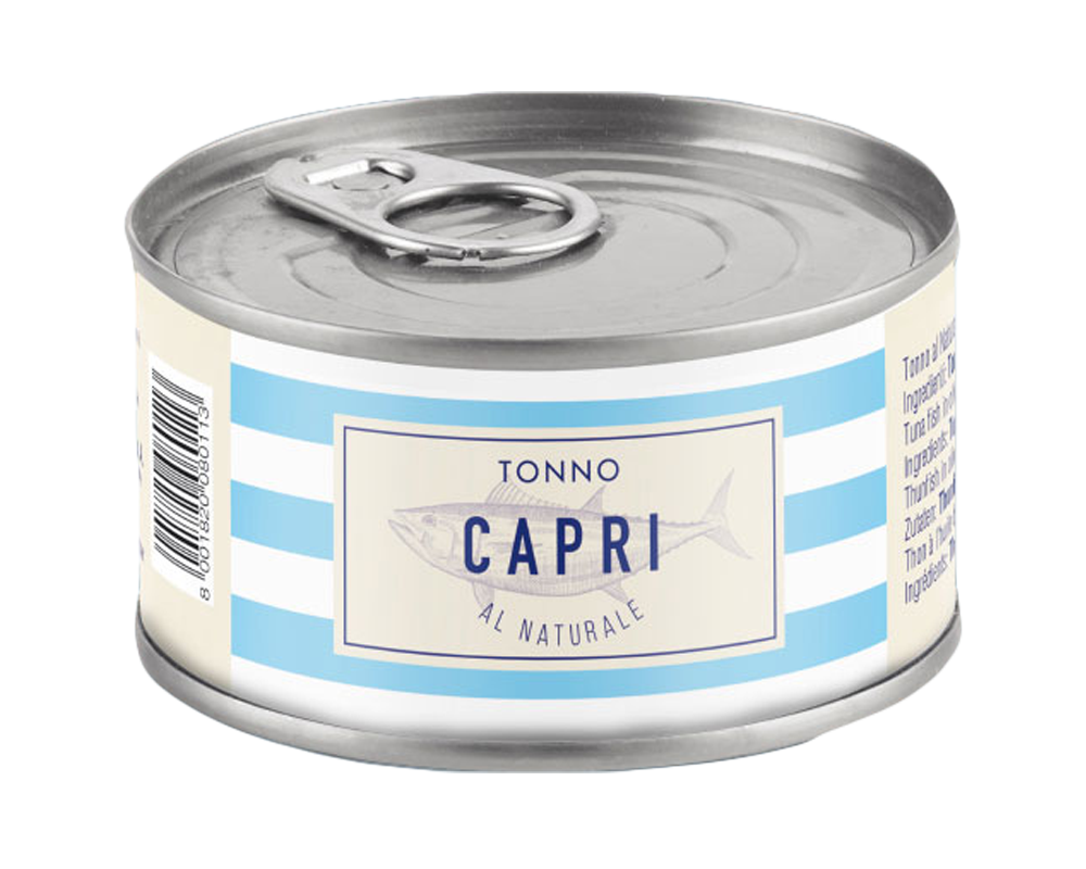 Capri natúr tonhal, saját lében