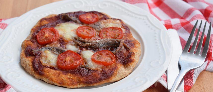 Szardellás pizza recept
