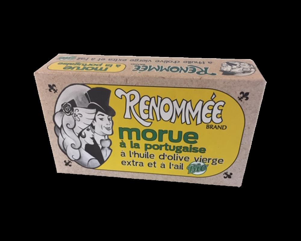 Renommée BIO tőkehal fokhagymás olívaolajban