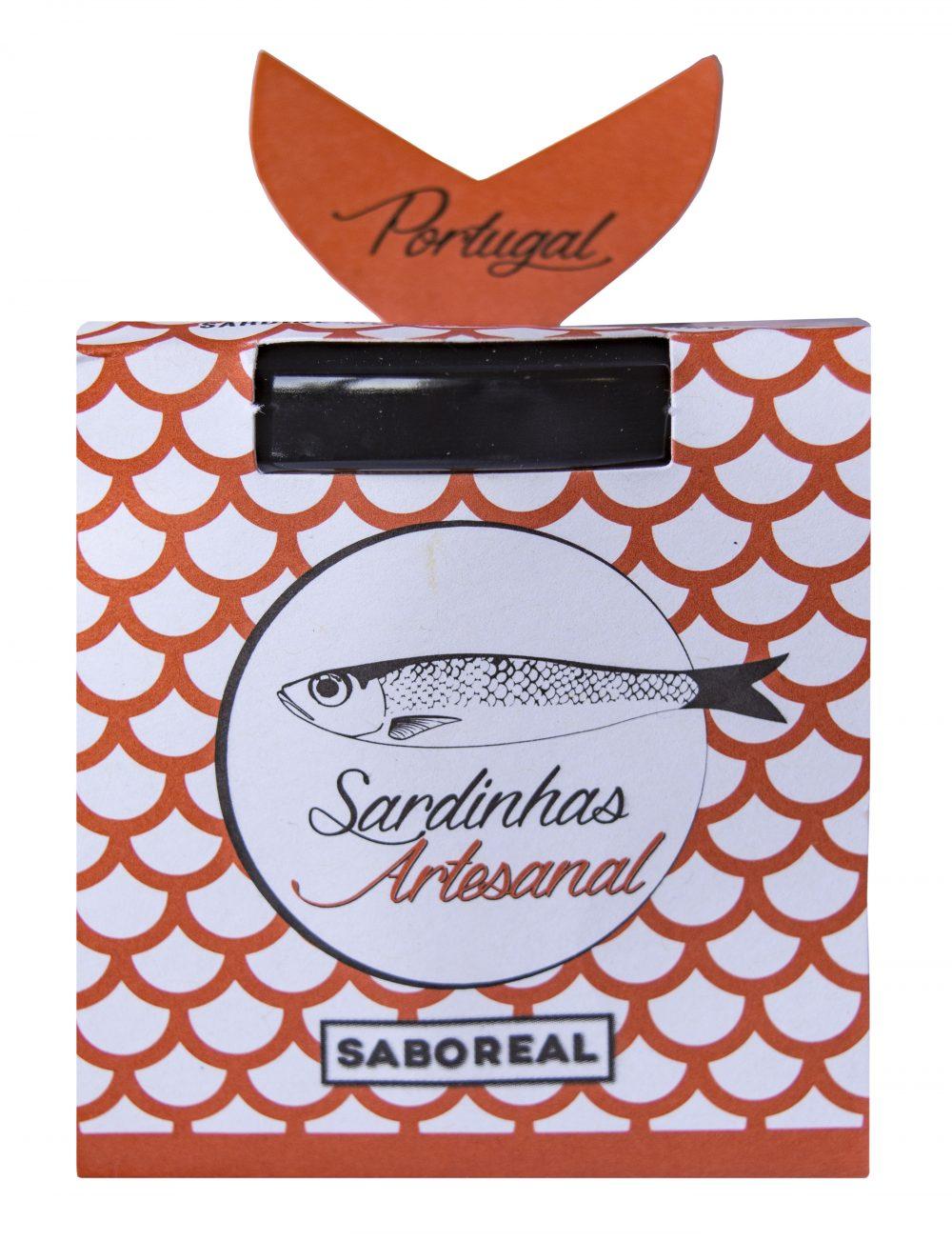 Saboreal szardínia tapas szárított paradicsommal