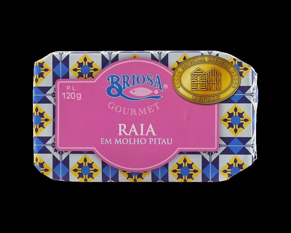 Briosa rája pitau szószban