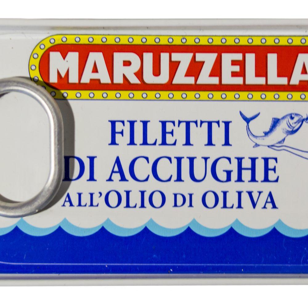 Maruzzella szardellafilé olívaolajban