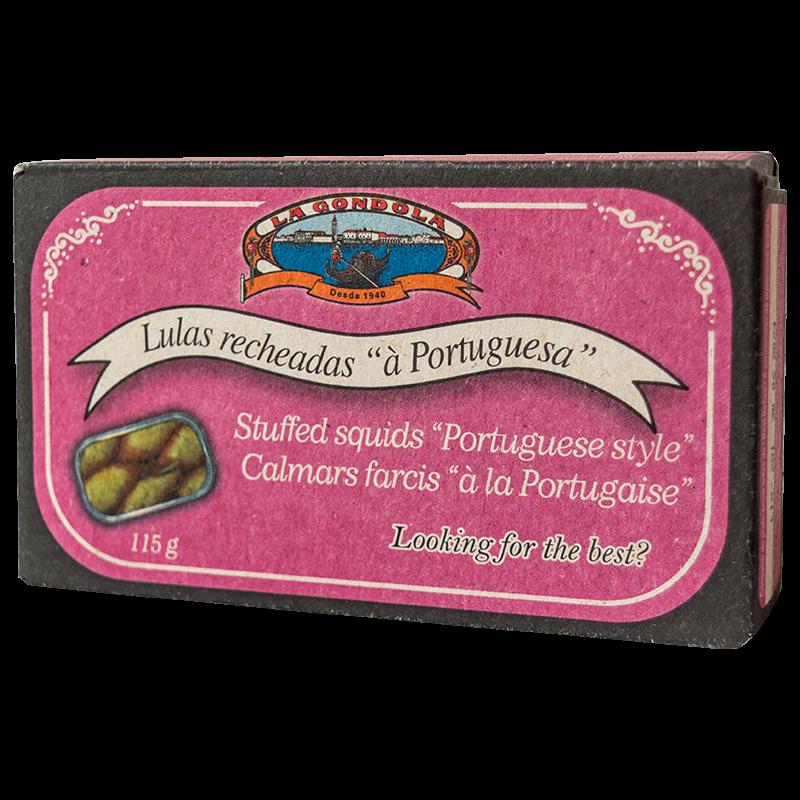La Gondola töltött tintahal portugál módra