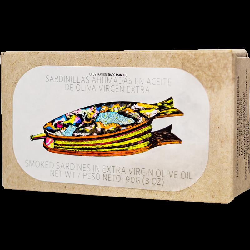 Jose Gourmet füstölt kis szardíniák extra szüz olívaolajban