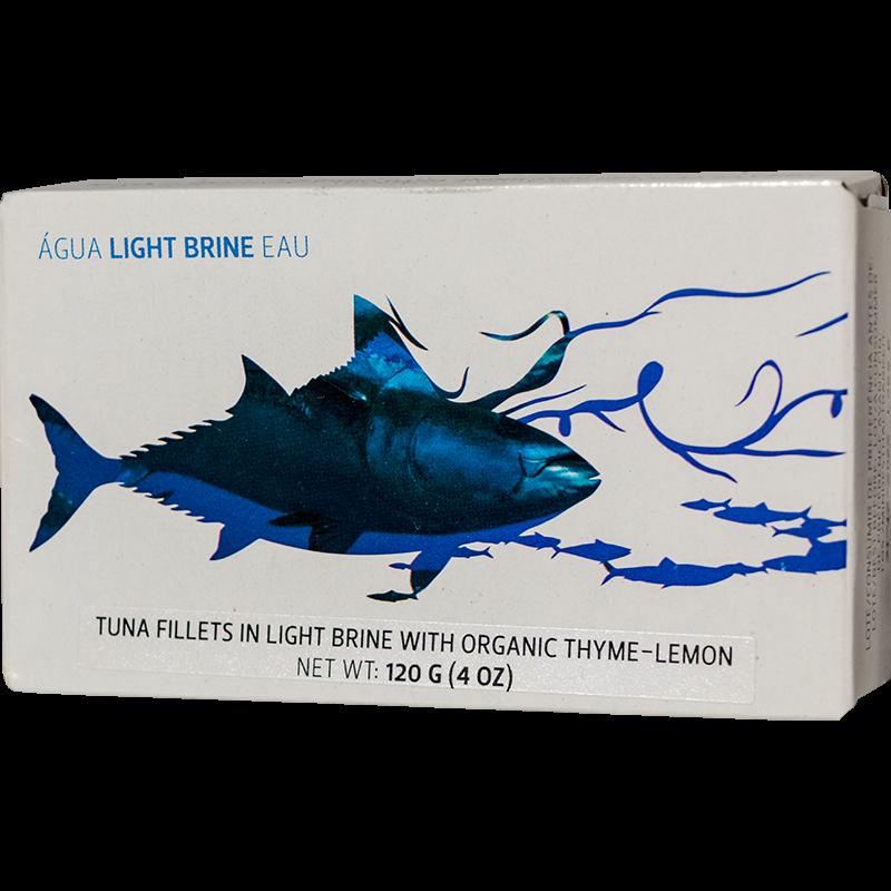 Maria Organic vad tonhal filé saját levében BIO kakukkfűvel és citrommal