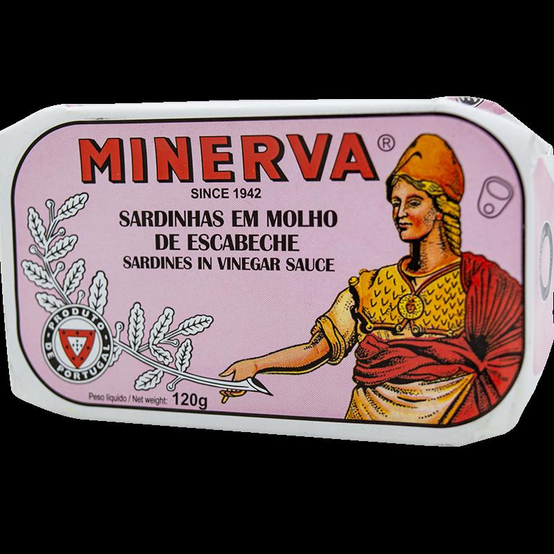 Minerva szardínia escabeche szószban